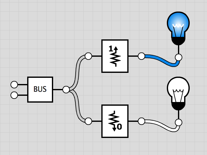Screenshot of Pull Up and Pull Down circuits
